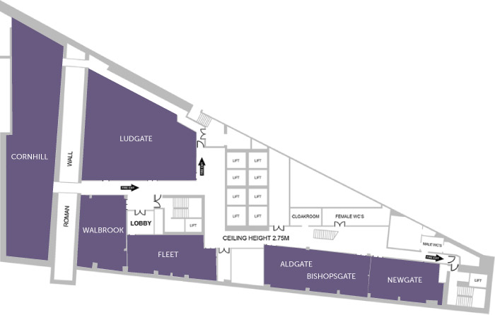 America Square Floorplans