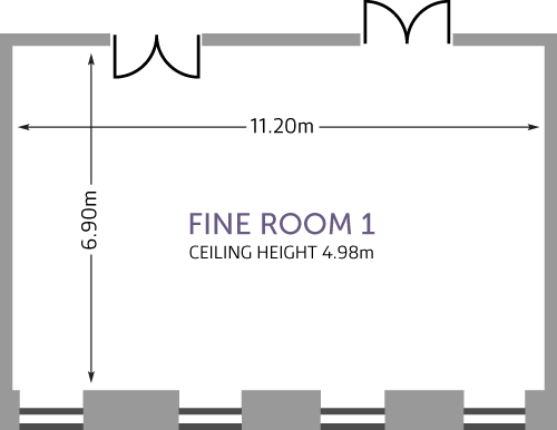 Fine Room 1 - Overview