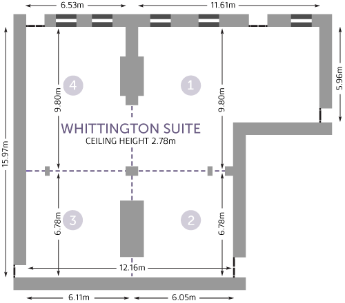 Cavendish Whittington Suite