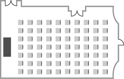 Conway Hall Brockway Room - Theatre
