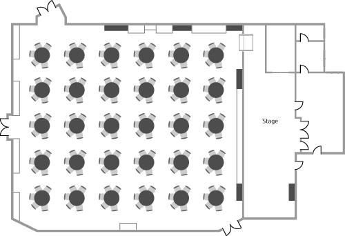 Conway Hall Main Hall - Cabaret