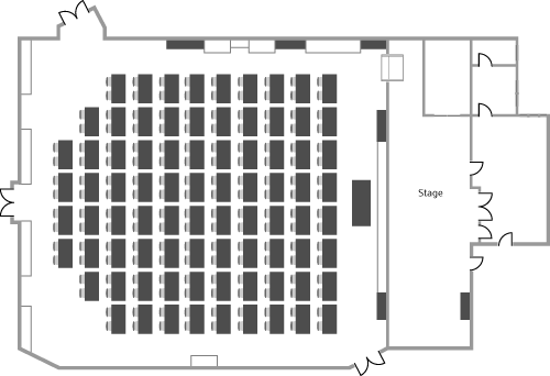 venue floorplans