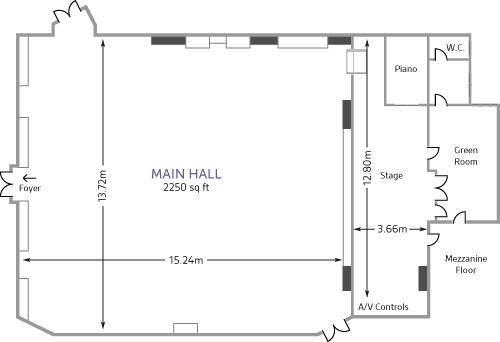 Conway Hall Main Hall