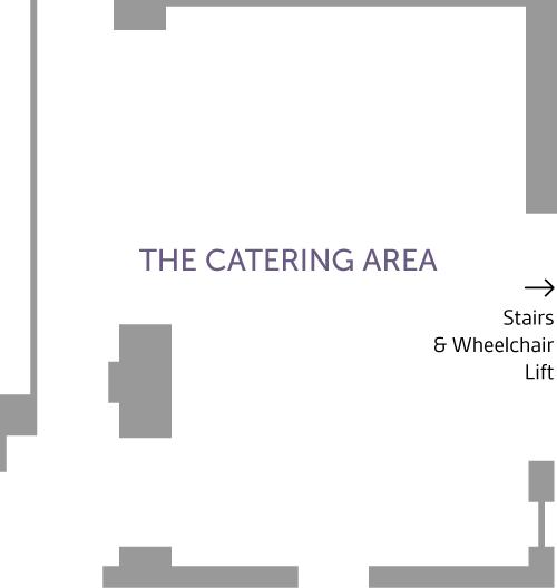 De Morgan House Catering Area