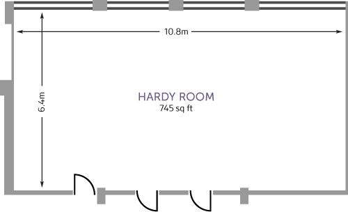 De Morgan House Hardy Room