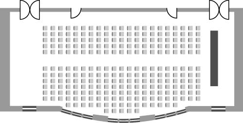 Hallam Council Chamber - Theatre