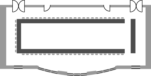 Hallam Council Chamber - U-Shape