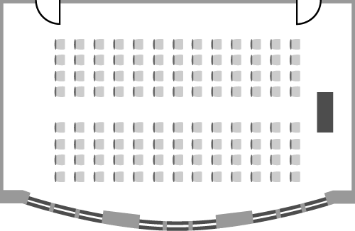 Hallam Oxford Suite - Theatre