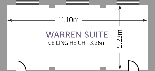 Hallam Warren Suite - Overview