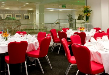 Walbrook Suite in a dinner layout