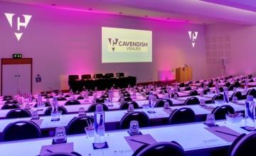 Cavendish Conference Venue - LED-lit Auditorium