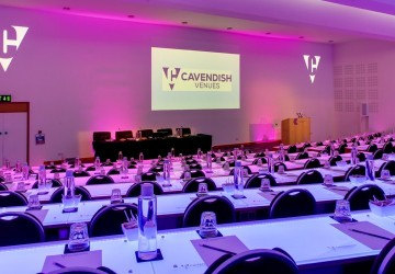 Cavendish Conference Venue - LED-lit Auditorium