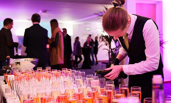 Drinks reception venue Cavendish