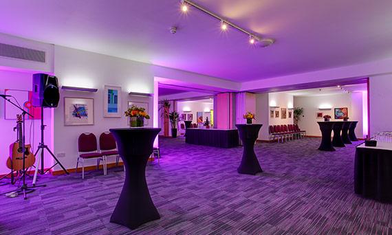 Evening events venue Cavendish