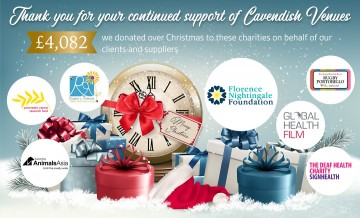 We donated £4,082 to these charities over Christmas