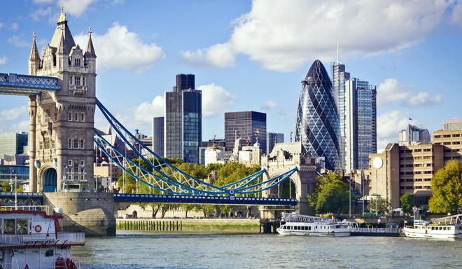City of London location