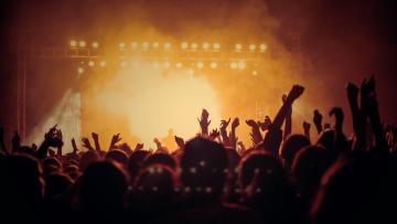 Event venues, concert event