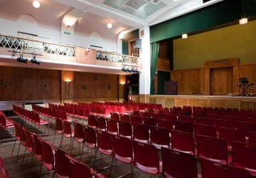 Conway Hall - Main Hall theatre seating