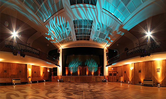 Evening events venue Conway Hall