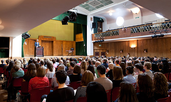 Lectures & talks venue Conway Hall