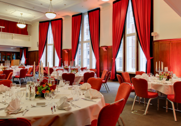 event space at Hallam conference venue