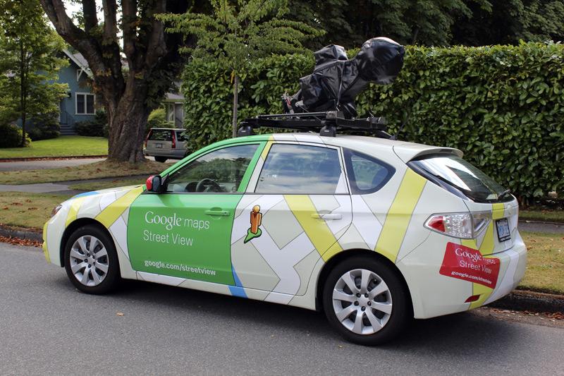 Google StreetView Car