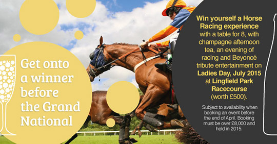 Grand National competition banner