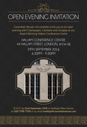 Hallam Open Evening 290916-Invitation