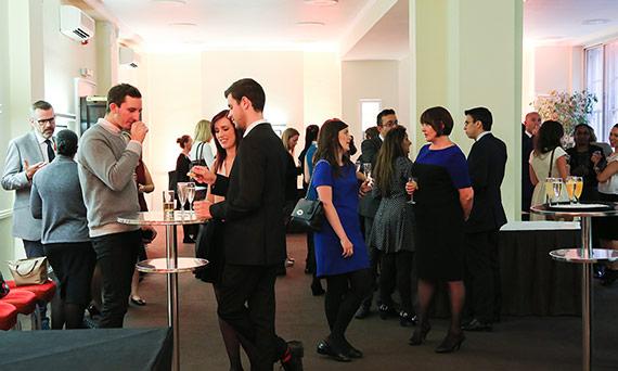 Drinks reception venue Hallam