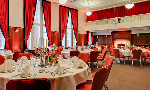 Evening events venue Hallam