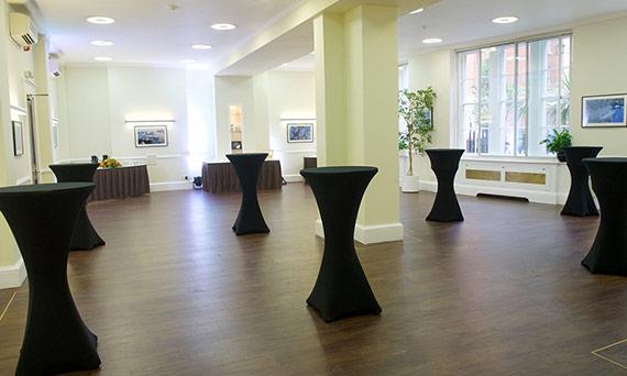 Exhibition space Hallam