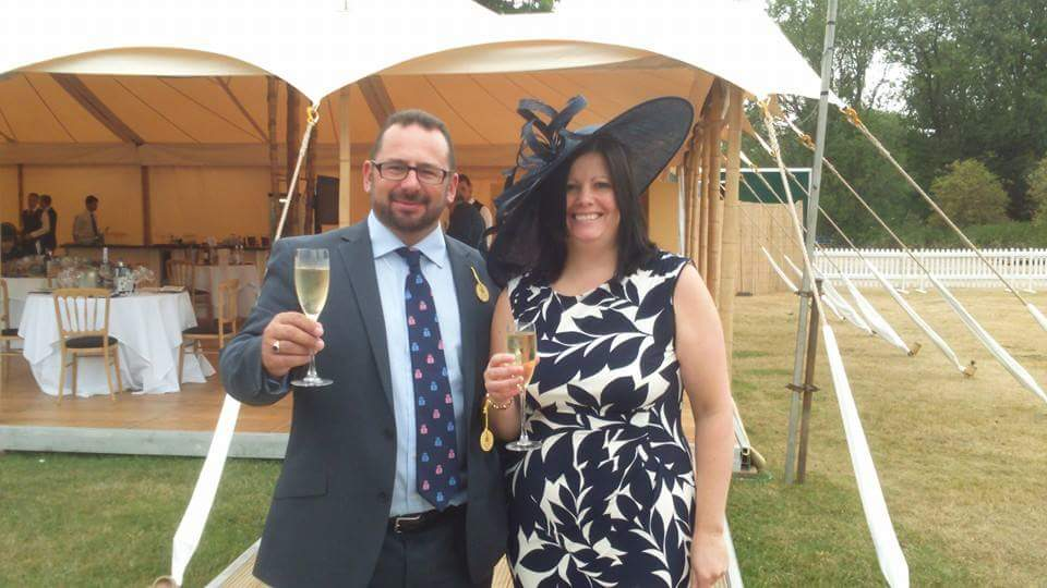 Happy Winners with Cavendish Venues at Henley Royal Regatta!
