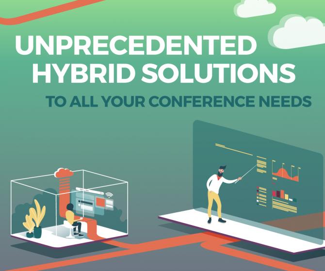 Hybrid conference venue