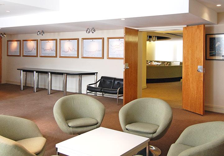 Cruciform Foyer Seminar Room : Noho soho london conference venues meeting rooms ico