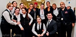 JLS america-square-conference-centre---catering-team-wiht-jls_5558406715_o