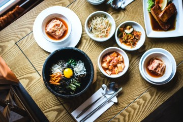 Korean food main