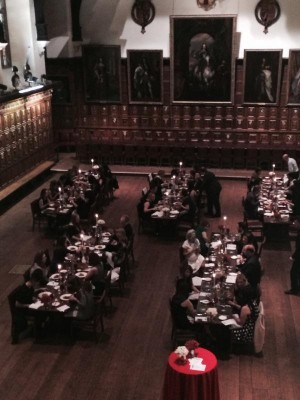 LCS Middle Temple Fam Trip Dinner