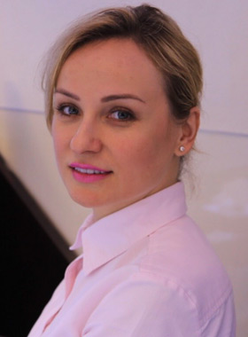 Lyuda Kyshakivska - Head of Catering Operations