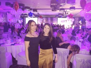 MK HBAA 2018 with Amy Derrick at Compass Hospitality