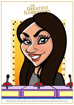 Mariam Caricature