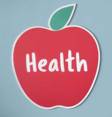 Good health fresh apple icon