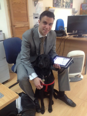 PM meets Dog Poppy at Events & Venues