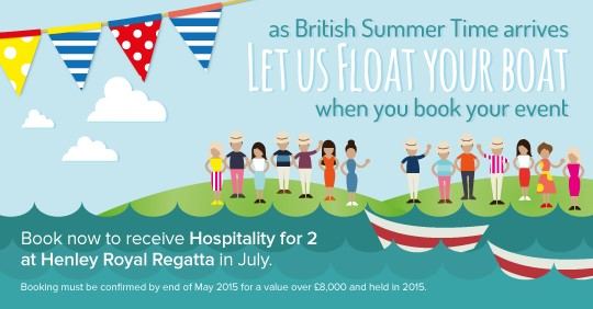 Let Cavendish Venues Float Your Boat with Hospitality at Henley Regatta!
