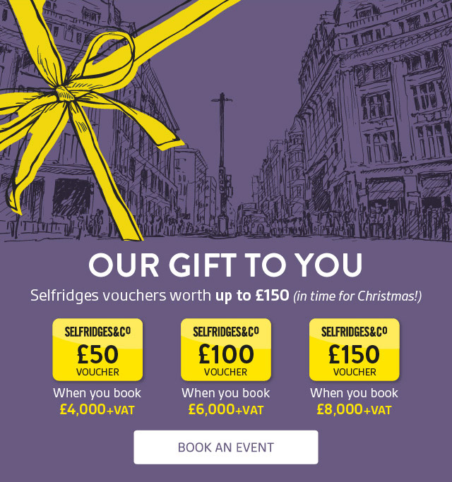 Selfridges Vouchers