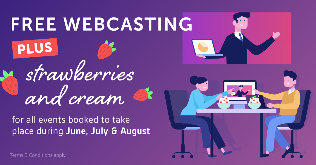 Free Webcasting over Summer 2020