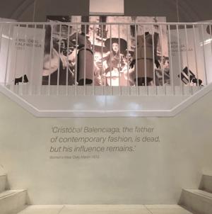 The Balenciaga exhibition held at the V&A (1)