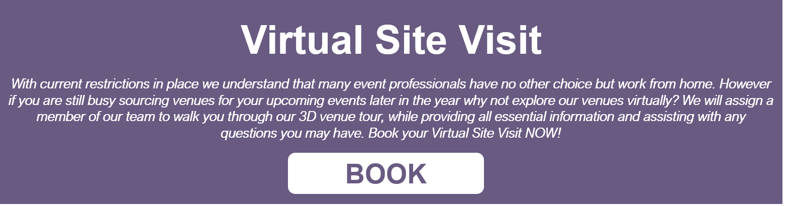 Book your Virtual Site Visit at our conference centres today!