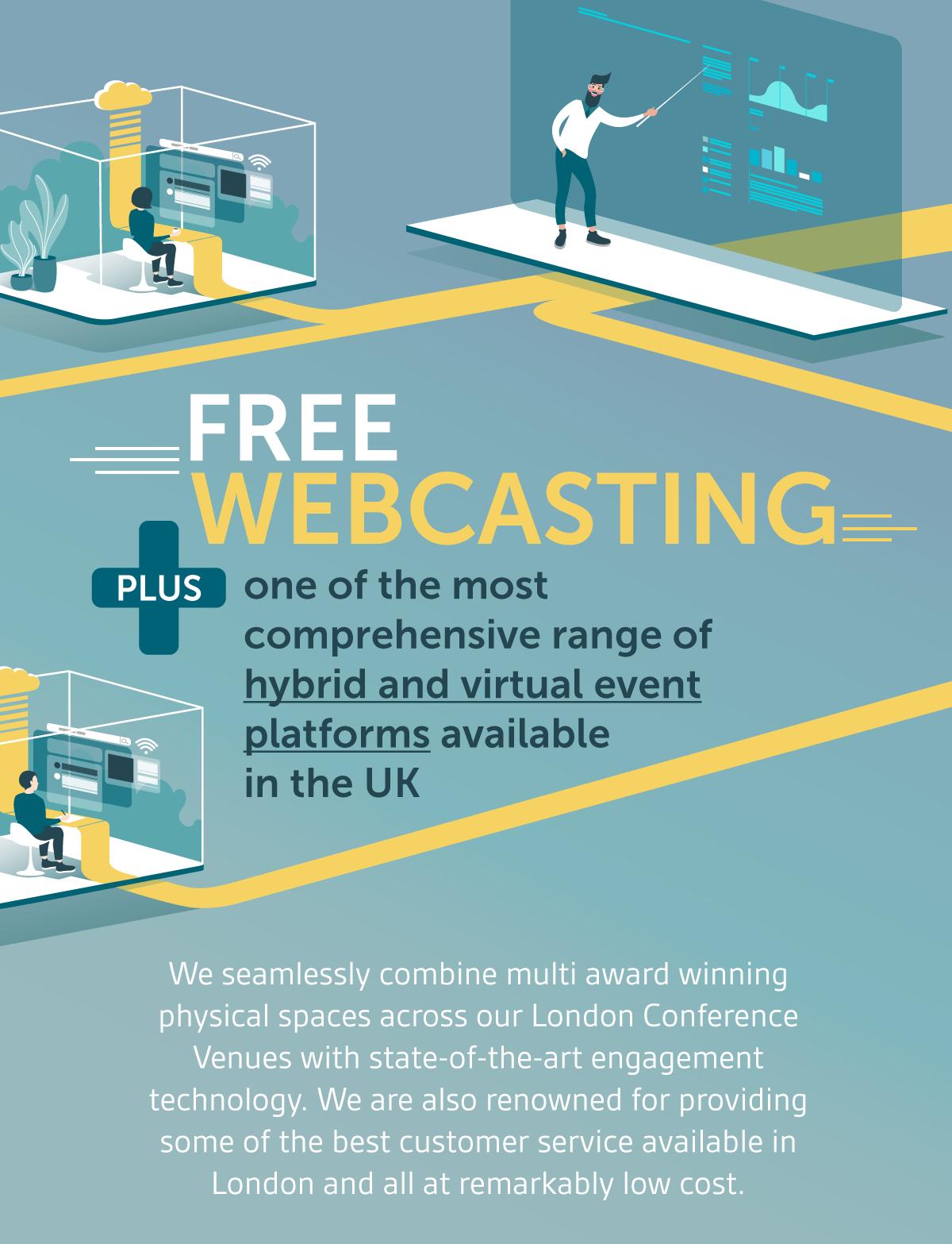 Free Webcasting – Hybrid & Virtual Events