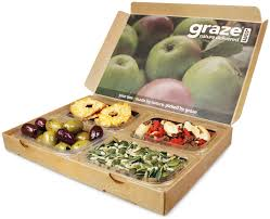 Book now – we will send you a graze box once a week for a month