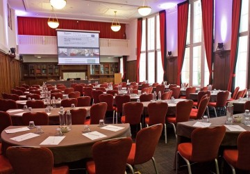 Hallam Council Chamber, cabaret layout